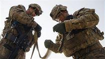 Ameri�tí vojáci v Afghánistánu. | na serveru Lidovky.cz | aktu�ln� zpr�vy