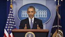 Americký prezident Barack Obama na tiskové konferenci. | na serveru Lidovky.cz | aktu�ln� zpr�vy