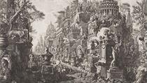 Giovanni Battista Piranesi: Pohled na k�i�ovatku antických cest Via Appia... | na serveru Lidovky.cz | aktu�ln� zpr�vy
