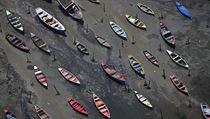 Pohřebiště lodí nedaleko zátoky