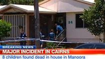 V dom� na p�edm�st� severoaustralsk�ho m�sta Cairns v p�tek policie na�la osm...