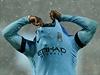 Bacary Sagna z Manchesteru City a jeho zoufalé gesto.
