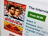 Prodej filmu The Interview na internetu.