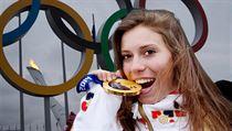 Snowboardcrossa�ka Eva Samkov�.