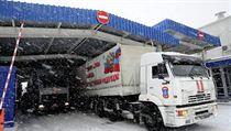 Rusk� konvoj na Ukrajinu, prosinec 2014.