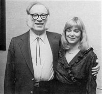 Isaac Asimov a dcera Robyn