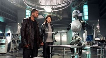 J�, robot - Will Smith, Bridget Moynahanov�