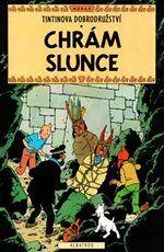 Tintinova dobrodru�stv� Chr�m slunce Herg�