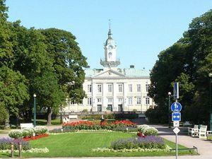 Finsko - star� soudn� budova