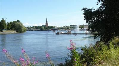 Finsko - řeka Kokemäenjoki
