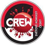 Crew světové komiksy česky logo
