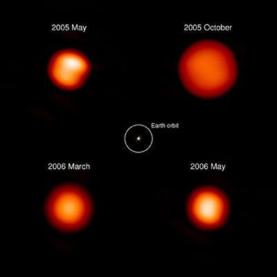 Hvězda Chí Cygni - pulzace