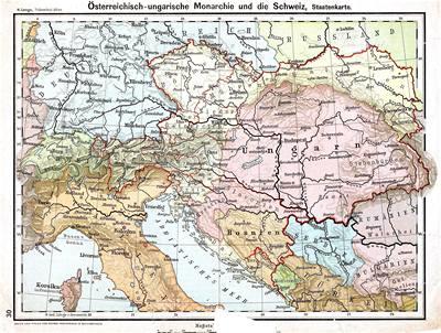 5. Státní mapa Rakouska-Uherska ) ukazuje, že horní hranice Slovenska je historická