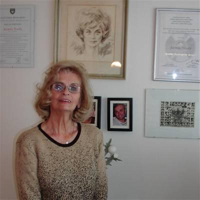 Jarmila Vesel� v roce 2008