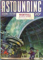 Astounding Nightfall Isaac Asimov