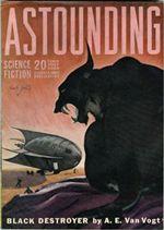 Black Destroyer van Vogt Astounding