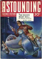 Cesty se musí hýbat Astounding Heinlein
