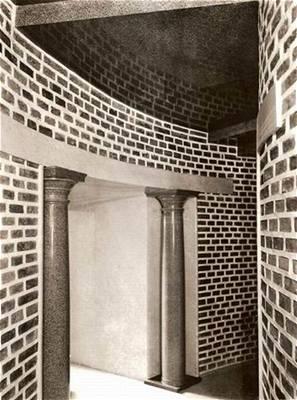 plečnik - prezidentský výtah