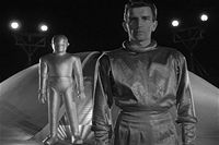Bates stood still Earth 1951 the day 1