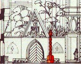 Králíček-lampa-skica