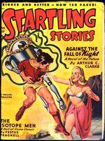 Against the fall of night proti p�du noci Startling stories Arthur C. Clarke