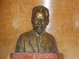Vacslav Havel - busta (foto Jiří Wagner)