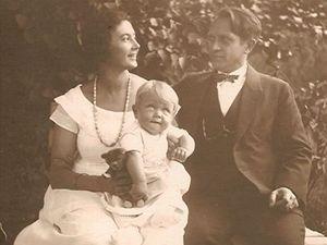 Pet��kovi s prvorozen�m synem Milo�em