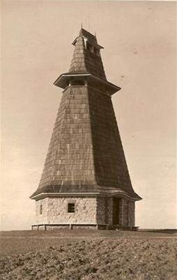 Pet��k - rozhledna �amberk 1921