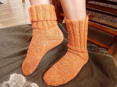 Slušivé ponožky s variantami nošení, archiv Matylda