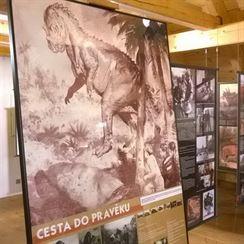 V Muzeu Zdeňka Buriana 1
