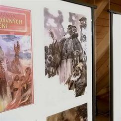 V Muzeu Zdeňka Buriana 2