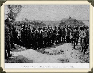 Zajatci vstupuj� do arm�dy