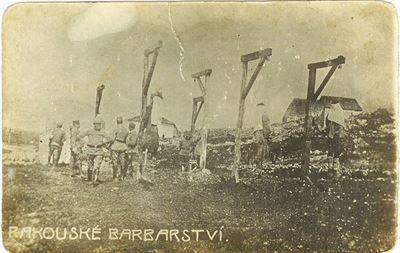 Popravy v Itálii (foto poskytl Jeffery Vejr)