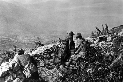 Piava, výhled do údoí Adiže - 39. legionářský pluk