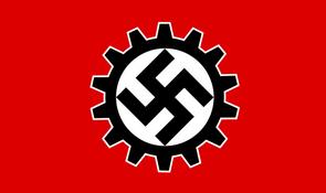 Znak nacistick�ch odbor�: Deutsche Arbeitsfront