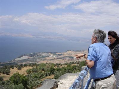 Galilejsk� jezero z Golan