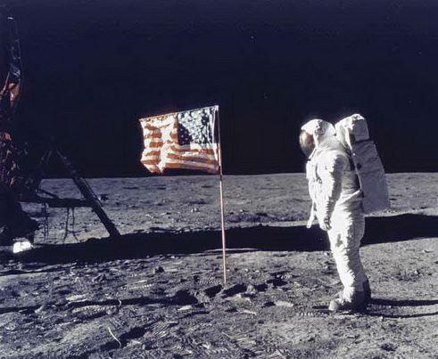 Apollo Moon flag