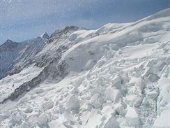Cestou na Jungfraujoch