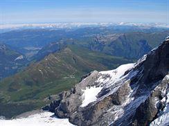 Pohled z Jungfraujoch, foto Zana