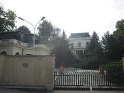 bývalá Petschkova vila