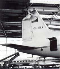 IL 18 OK-NAA poškozená TU134A