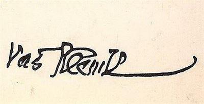 Plečnik- podpis