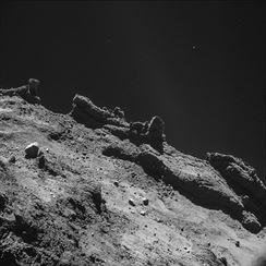 Povrch komety 67/P