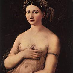 La Fornarina 1518-19 Raphael