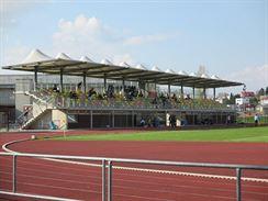 Litomy�l - tribuna stadionu