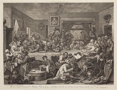 William Hogarth - Předvolební obcování